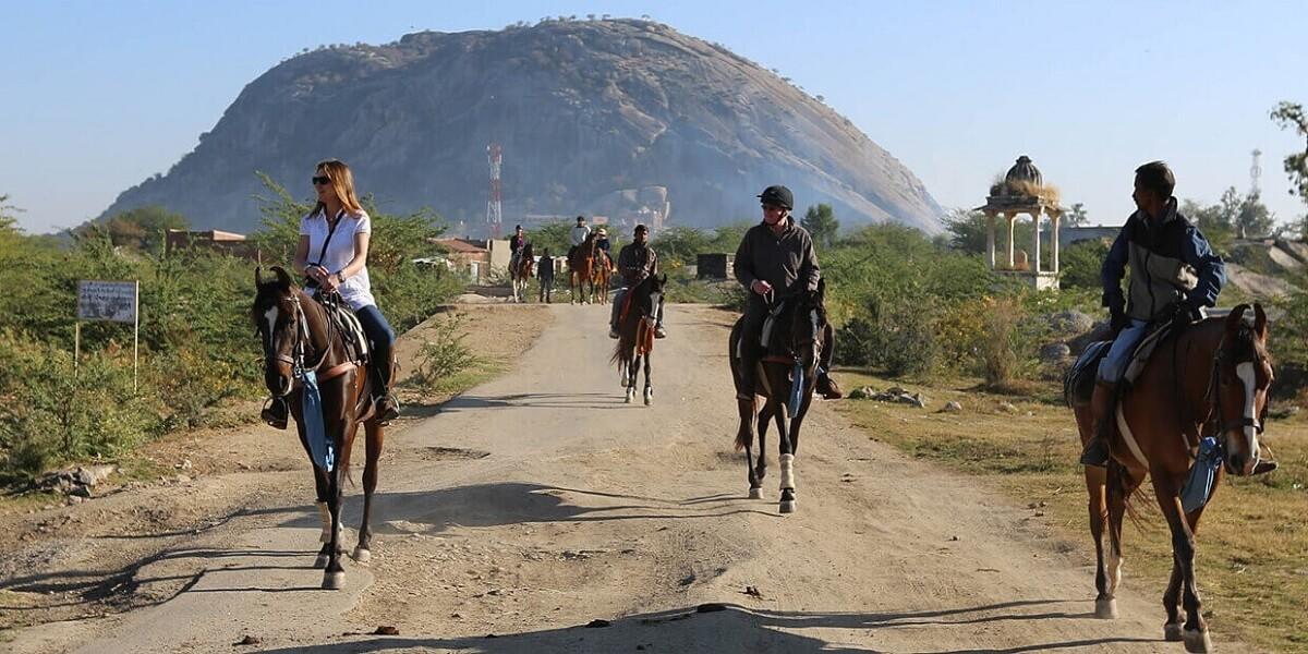 Horse Safari kumbhalgarh