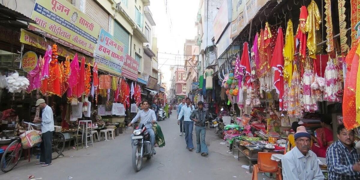 udaipur old market